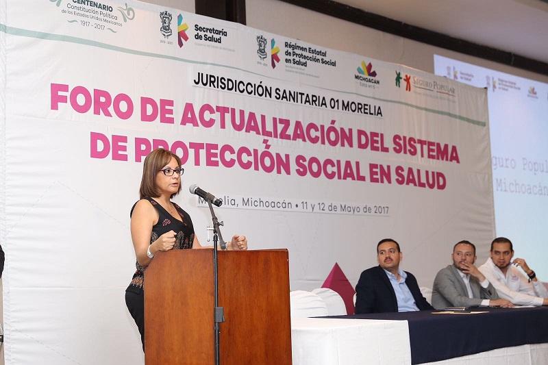 Desde hace años no se realizaban este tipo de foros en la entidad, por lo que queda demostrado que en la administración del gobernador Silvano Aureoles Conejo, el rubro de la salud es fundamental