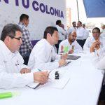 """Martínez Alcázar encabezó en la colonia Trincheras de Morelia el programa """"Presidente en tu Colonia"""""""