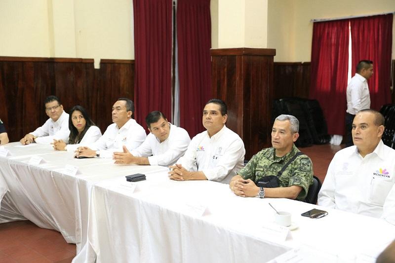 En el encuentro, el mandatario estatal dejó en claro que para dar certeza en el combate a la criminalidad, es necesario e indispensable el apoyo de la ciudadanía