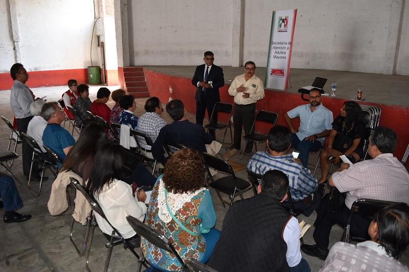 Siguiendo las instrucciones del presidente Estatal del PRI, Víctor Silva, Castañeda Vázquez comentó que se les brindará atención inmediata