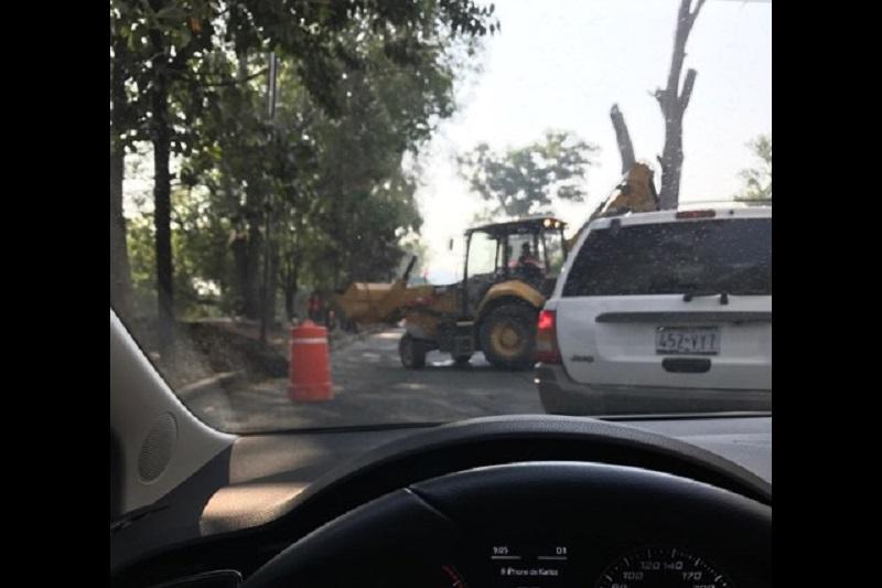 Una vez más, se palpa la falta de planeación y de organización en las obras viales que están a cargo del Ayuntamiento de Morelia (FOTO: KARLOZ QUESADA)