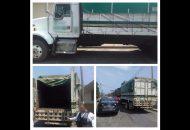 Los vehículos, armas, cargadores, cartuchos y chaleco fueron puestos a disposición de la autoridad correspondiente