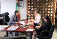 Barragán Vélez refrendó su convicción de trabajar en beneficio del personal del Telebachillerato, tal como se lo instruyó el gobernador Silvano Aureoles