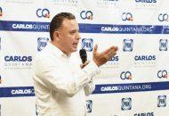 Carlos Quintana reconoció que si bien existen adeudos financieros heredados de pasadas administraciones con diversos sectores del estado, es importante que a través del diálogo y las mesas de trabajo, se consoliden acuerdos entre ambas partes