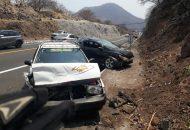 Se siguen registrando muchos accidentes carreteros en la Autopista Siglo 21
