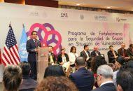 Felicita coordinador estadounidense del Programa de Profesionalización de la policía mexicana, Darrel Paskett, al Gobierno del Estado por su trabajo en materia de seguridad