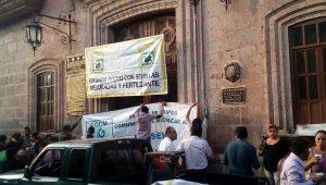 La sede del Ayuntamiento de Morelia se mantiene cerrada; los trabajadores municipales no han podido entrar ni a checar su tarjeta