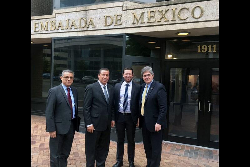"""""""Con estas alianzas Guanajuato contribuye al desarrollo económico y social del país, y al fortalecimiento de la imagen de México como socio estratégico para hacer negocios a nivel global"""", puntualizó Márquez Márquez"""