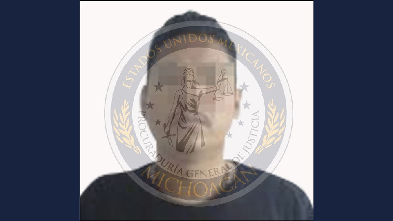 El imputado fue presentado ante el agente del Ministerio Público por su posible relación en el delito de narcomenudeo y se continúa con la indagatoria con relación a su presunta participación en el delito de sabotaje