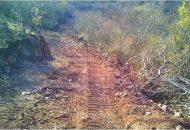 Para este municipio enclavado en la sierra costa de Michoacán, es de suma importancia mantener en buen estado los caminos rurales