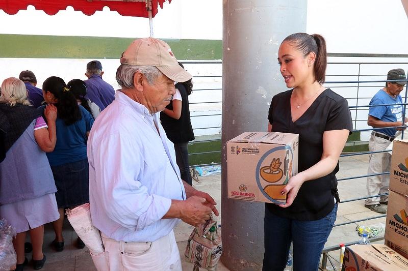En breve iniciará la segunda entrega de este programa social, anticipa la titular de la Sepsol, Miriam Tinoco Soto