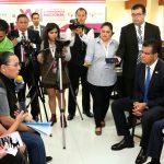 Durante el encuentro los periodistas solicitaron a Renato Sales que en la XVII sesión ordinaria de CNSSP, se hiciera un llamado a los representantes de seguridad de los diferentes estados para que coadyuven en el trabajo de protección a las labores del gremio periodístico