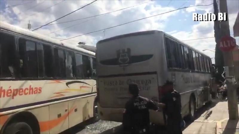 Igual que lo han hecho normalistas de Chiapas, los de Michoacán acudieron a Aguascalientes para respaldar las acciones de presión de las estudiantes del plantel de Cañada Honda