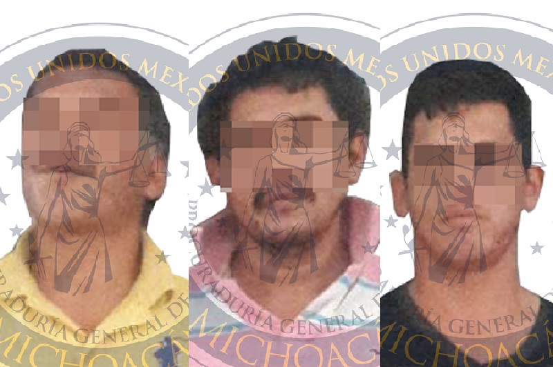 Los detenidos fueron puestos a disposición de la Fiscalía Regional de La Piedad, donde se procedió a integrar la Carpeta de Investigación y ejercitar acción penal