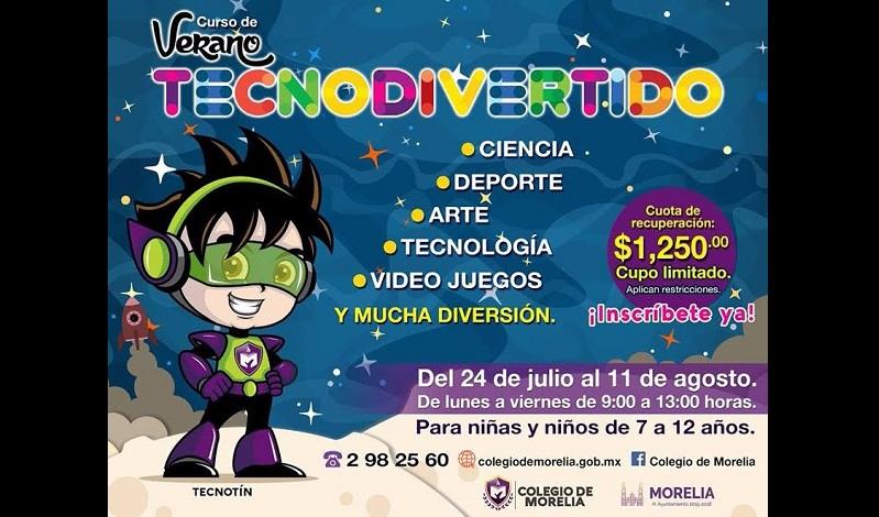 Va dirigido a niñas y niños de 7 a 12 años; se realizará del 24 de julio al 11 de agosto de 9:00 a 13:00 horas