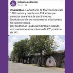 Entre otras, se ha promovido con imágenes de otras ciudades del país a la Catedral de Morelia, el Centro Histórico y hasta tomas panorámicas