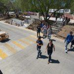 Estas obras garantizan la seguridad de peatones y personas con discapacidad; diversos cruces peatonales serán colocados a lo largo de la ciudad beneficiando a miles de morelianos