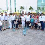 La directora general del Sistema DIF Michoacán, Rocío Beamonte Romero afirmó que el equipamiento cumple con la misión de atender a las familias del estado