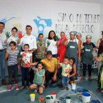Actividades artísticas fortalecen pertenencia a Comedores Comunitarios, afirmó el delegado federal de la Sedesol, Gerónimo Color