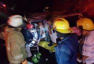 Fue aproximadamente a las 19:00 horas de este domingo cuando usuarios de la autopista llamaron a los servicios de emergencia, ya que en el kilómetro 246 de dicho tramo, esto cerca de la tenencia de Infiernillo, perteneciente al municipio de Arteaga