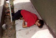 Elementos de la Policía Michoacán realizaron un operativo en la zona para tratar de localizar a los hechores sin resultados positivos