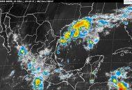 La Onda Tropical No. 8 ocasionará tormentas de fuertes a muy fuertes en el centro, el sur y el sureste de México