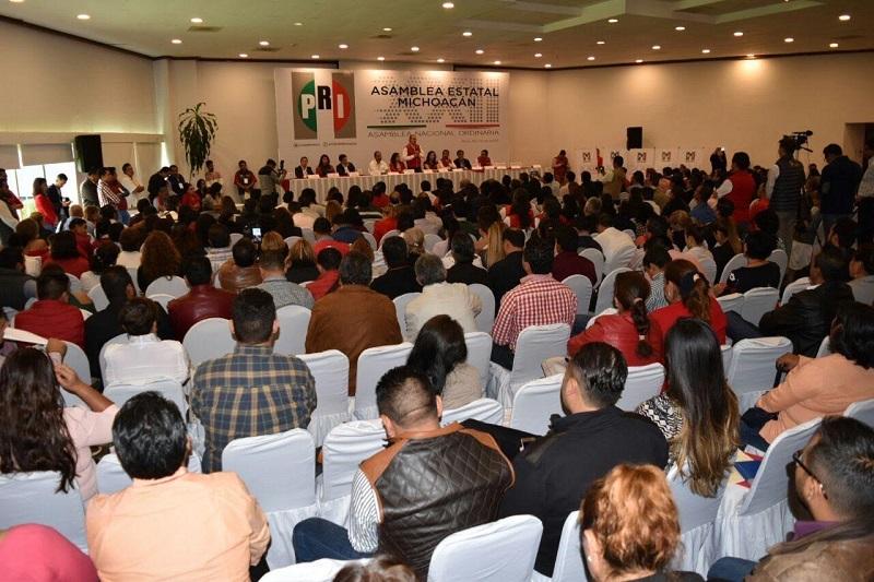 Previo a este evento, en Michoacán se realizaron las 113 Asambleas Municipales a través de 11 Distritales en las cuales participaron aproximadamente 4,500 militantes; se recogieron 346 propuestas de las cuales 273 fueron aprobadas