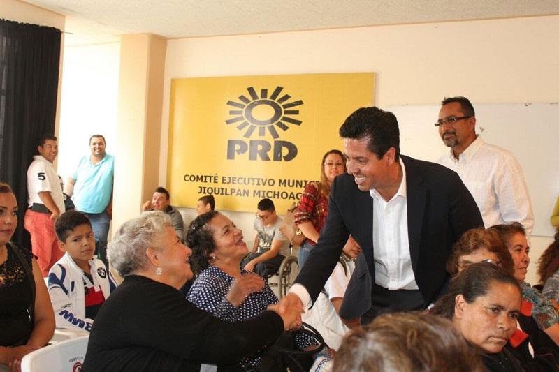 En una gira realizada en los municipios de Sahuayo, Jiquilpan y Puruándiro, Antonio García Conejo llevó la línea política del partido con la finalidad de evitar desinformación al interior de las estructuras partidistas