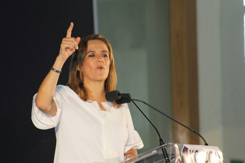 Anticipa Zavala Gómez del Campo que en su oportunidad será implacable contra la corrupción (FOTO: MARIO REBOLLAR)