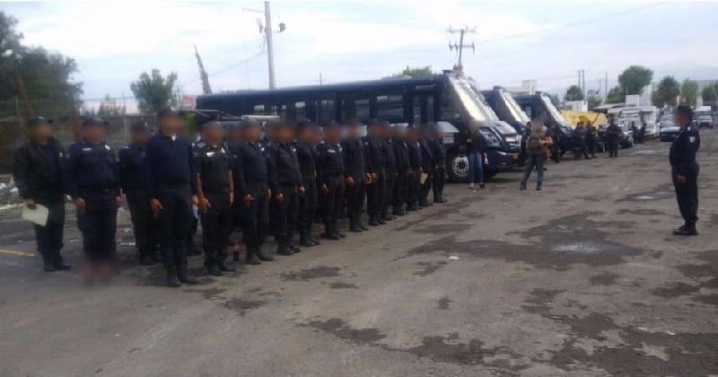 Los policías, así como el director de Seguridad Pública municipal, fueron sujetos a estas diligencias que tienen como objetivo garantizar que en las filas de la SSP se cuente con personal confiable