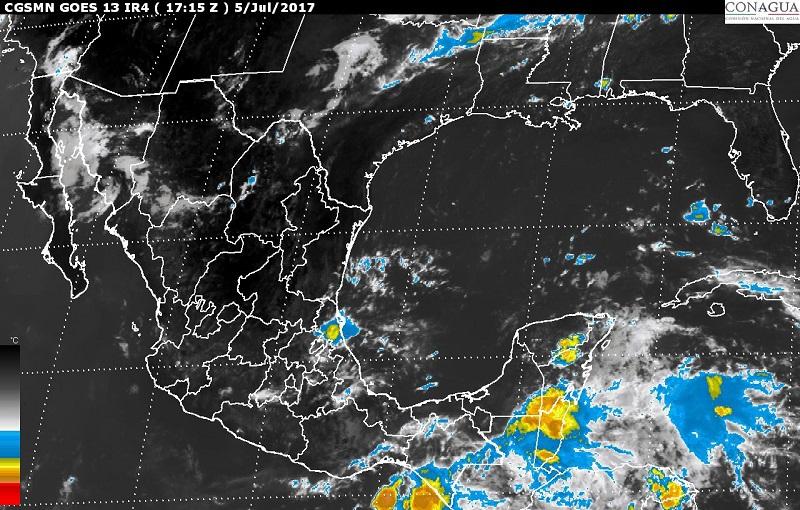En Sonora, Chihuahua, Coahuila, Nuevo León y Tamaulipas se pronostican vientos fuertes con posibles tolvaneras o torbellinos