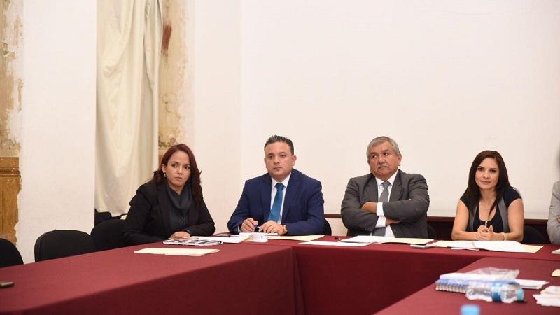 Ambos legisladores cuestionaron a los participantes sobre los mecanismos que implementarían en caso de ser designados Consejeros para fortalecer el trabajo institucional que realiza la CEDH