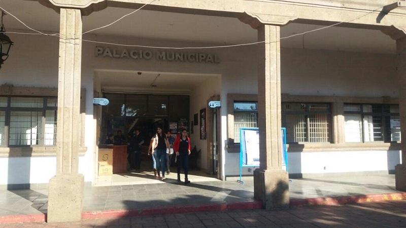 En Chilchota las oficinas de Rentas se encuentran en Palacio Municipal