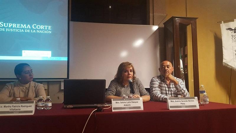 Vázquez Alatorre destacó también que las reformas a la Ley General de Víctimas contemplaron la creación de los Recursos de Ayuda o gastos de ayuda inmediata, asistencia, atención y rehabilitación con cargo al Fondo de Ayuda
