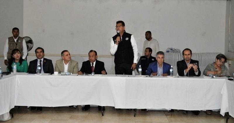 Instaladas, 600 cámaras de vigilancia conectadas al C5i, informa en reunión de la Mesa de Seguridad y Justicia: Corona Martínez