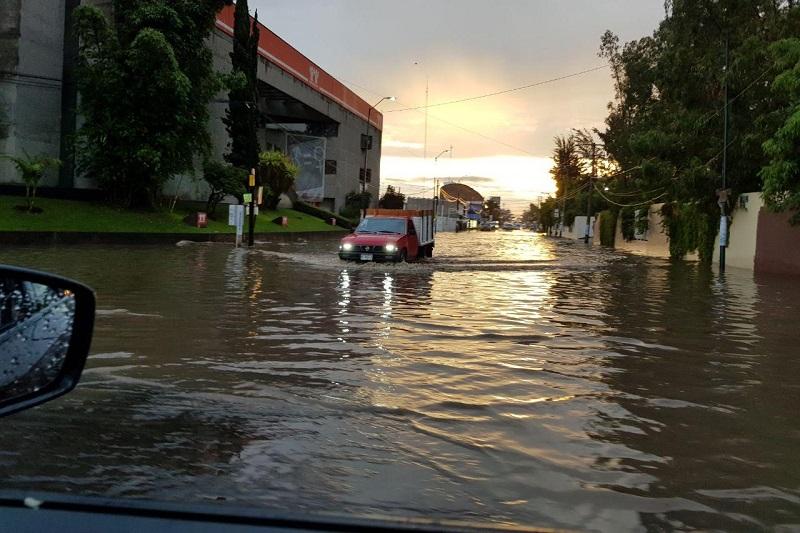 La zona de Policía y Tránsito tradicionalmente se inunda desde hace varias décadas, pero no ha habido una solución eficaz por parte de las autoridades