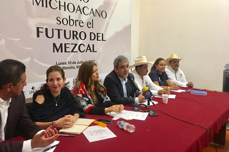 Esto, durante la realización del Foro Michoacano sobre el Futuro del Mezcal, el cual fue inaugurado por la diputada federal Claudia Gorichi García