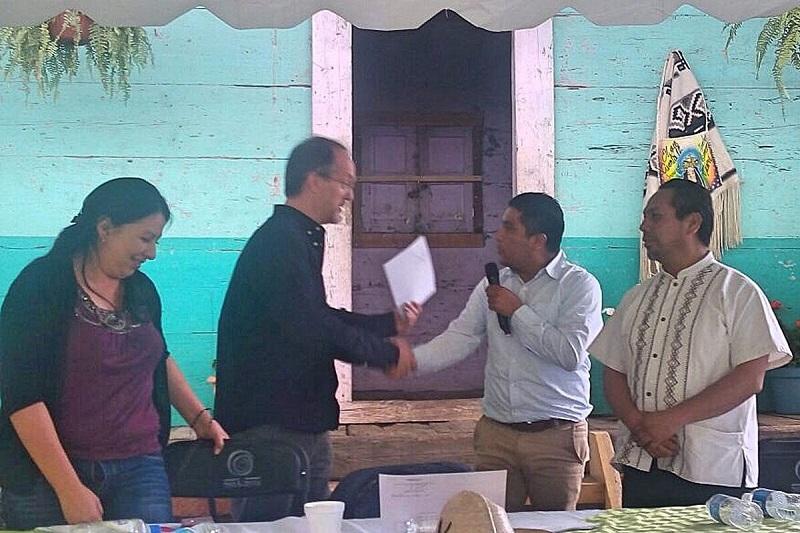 El municipio de Nuevo Parangaricutiro fue sede de esta reunión en la que asistieron más de 40 cronistas de diversas demarcaciones de la entidad