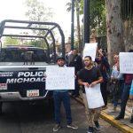 Los manifestantes no bloquearon la vialidad en el Libramiento Sur