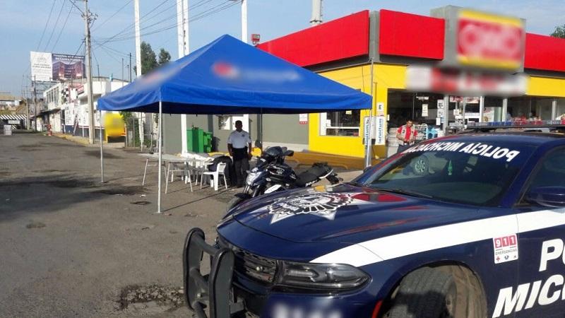 Con actividades de prevención y de proximidad social, la Policía Michoacán se mantiene cerca de la población para fortalecer su confianza en los cuerpos de seguridad, que velan por su bienestar durante estas vacaciones de verano