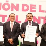 Aureoles Conejo reconoció la disposición del Congreso del Estado para trabajar de la mano con el Gobierno, que en conjunto con la sociedad, han permitido fortalecer este andamiaje que hoy en día es una realidad