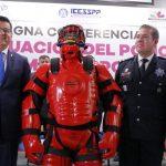 La construcción del C5i y de los cuarteles regionales de la Policía Michoacán, muestra de que en Michoacán estamos haciendo las cosas bien, subraya el titular de la institución, Juan Bernardo Corona