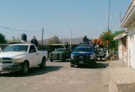 Los detenidos, las armas, los cargadores, cartuchos y vehículos fueron puestos a disposición de la autoridad competente para continuar con la carpeta de investigación