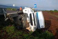 Los afectados indicaron que participó otro vehículo el cual aparentemente fue el que provocó el accidente dándose a la fuga