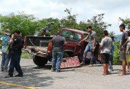El conductor Omar H. C. de 45 años de edad del vehículo Pontiac, quién radica en Ciudad Lázaro Cárdenas, resultó ileso del percance por lo que fue detenido por los elementos de la Policía Rural, quienes lo pusieron a disposición de las autoridades correspondientes