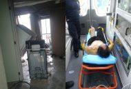 La persona fue atendida por personal paramédico y posteriormente trasladarla al IMSS para recibir atención médica, la cual indico que rentaba la vivienda y que la posible causa del incendio fue un corto circuito