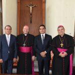 Pascual Sigala celebró esta nueva etapa en la que desde el inicio se muestra la disposición de trabajar en favor de la paz