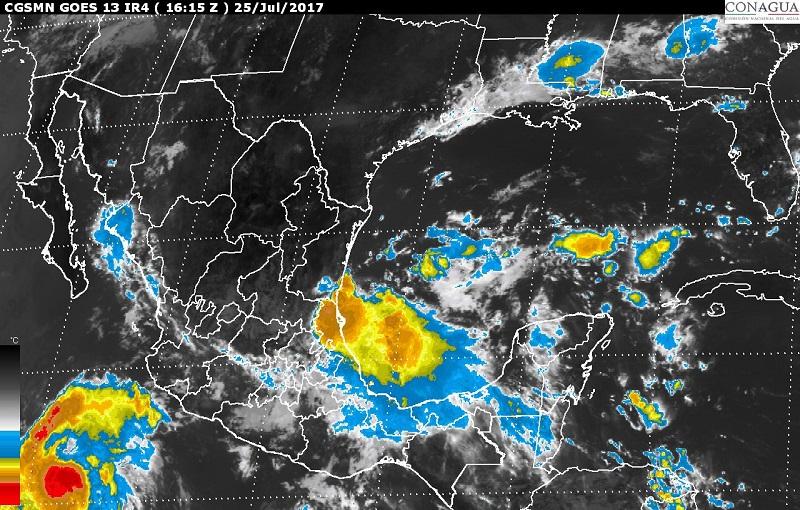 Se pronostica oleaje de 2.5 a 3.5 metros en las costas de Nayarit, Jalisco, Colima y Michoacán
