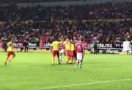 Morelia firmó la victoria al minuto 72 con un remate de cabeza de Fernando Ortiz luego de un centro de Carlos Guzmán, el defensor logró colocar la pelota en el área para que Ortiz aprovechara una floja marca mandando el balón al fondo de las redes