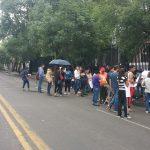 Agentes de la Policía Michoacán implementan operativo para desviar el tránsito vehicular